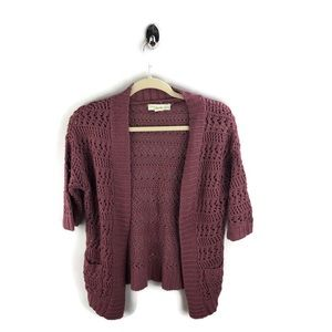 Anthro Staring at Stars Knitted Cardigan S